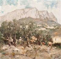 mont sainte-victoire by maximilien luce
