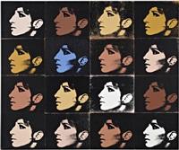 16 barbras (from jewish jackie series) by deborah kass