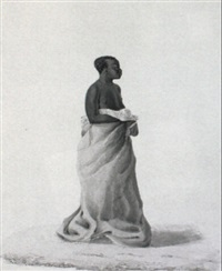 two studies of xhosas by james fellowes