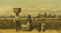 untitled (cotton picking) by william aiken walker