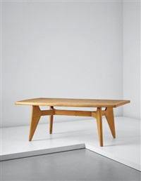 dining table, from 'l'equipement de la maison' series, grenoble by charlotte perriand & pierre jeanneret
