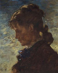 coolidge girl by william morris hunt