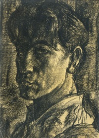youthful self-portrait by lajos vajda
