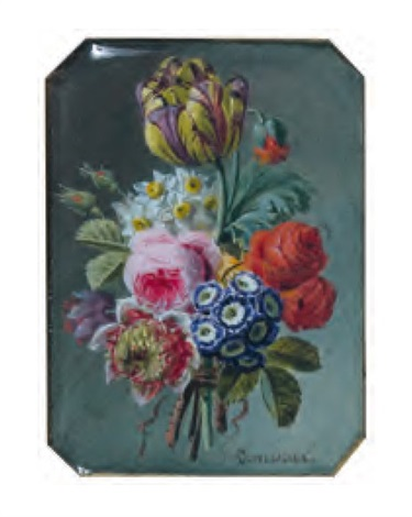 bouquet de fleurs by jan frans van dael