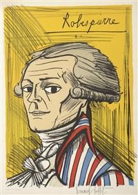 robespierre - suite la révolution française 1789 by bernard buffet