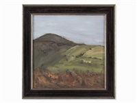 landscape by georg eisler
