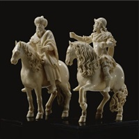 equestrian groups (pair) by matthias steinl