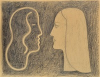 double portrait by rick amor