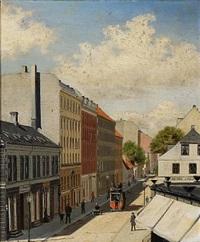 street view of gl. kongevej in frederiksberg, denmark by albert kromann