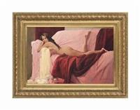 the pink sofa by nikolai leykin