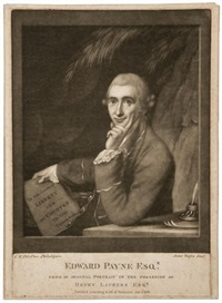 edward payne by charles willson peale