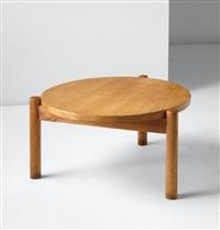 coffee table, model no. 10, from 'l'equipement de la maison' series, grenoble by charlotte perriand