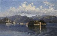 vue des iles borromées by maximilian von fichard