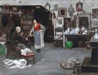 la bottega dell'antiquario by cesare vianello