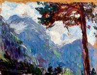 paisaje by hermenegildo anglada camarasa