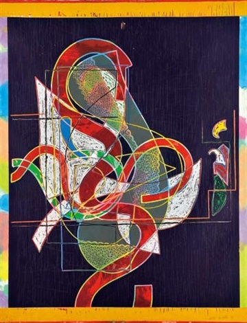 pergusa three by frank stella