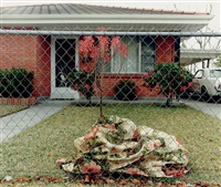 floral blanket, metairie, la (from the homefront series) by william greiner