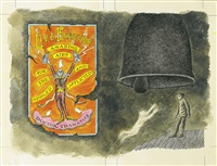 the bell, the book, and the spellbinder by edward gorey