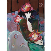 brown lady by peter max