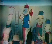 la seconde femme, 1982 by serge (lesnik) lebedev