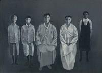 family photograph by ahn chang-hong