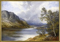 by the lochside by james faed