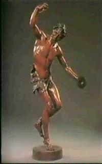 the dancing faun by edmund klotz