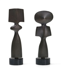 ohne titel (totem-paar) by andre raboud