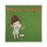 banging the drum by yoshitomo nara