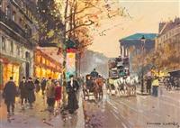 boulevard de la madeleine by edouard léon cortès