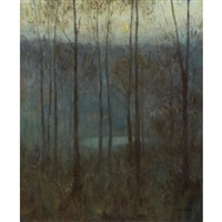 nocturne, trees by edward steichen