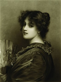 sylvia (after luke fildes) by john d. miller