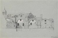 villa adriana in rom by albert eichhorn