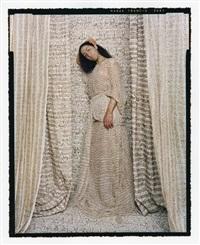 les femmes du maroc: standing odalisque #1 by lalla essaydi