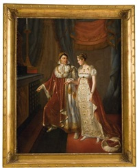 le mariage de l'empereur napoléon ieret de l'impératrice marie-louise by auguste françois laby