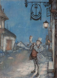 anchor inn by anton pieck