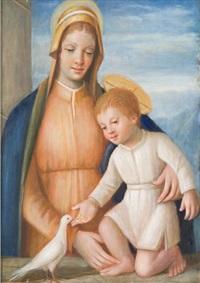 madonna con bambino by pietro cortellezzi