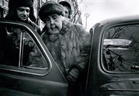 vieille actrice, moscow by william klein