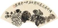 菊花 by qi baishi