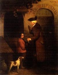 l'homme, l'enfant et le chien by théodore valerio