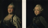the empress catherine the great by virgilius erichsen