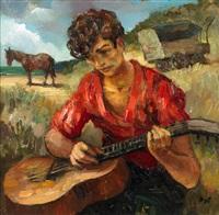 gitan a la guitare by marcel dyf