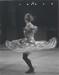 cancan dancer, moulin rouge, paris by ilse bing
