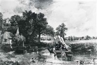 haywain, constable (1821) cruise missiles u.s.a by peter kennard