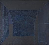 geometrisk komposition i svart by wladyslaw jackiewicz