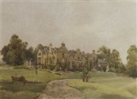 blanerne house, berwickshire by amy sandys lumsdale