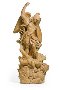 the archangel st. michael vanquishing the devil by giuseppe sanmartino