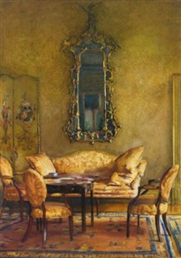 an elegant interior by walter gay