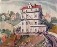 old house in edmonton by bernard middleton