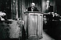 reunion du syndicat des acteurs, moscow by william klein